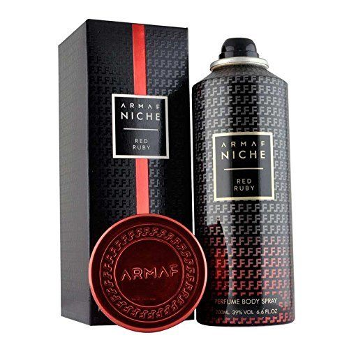 Armaf Niche - Perfume Bodyspray for Women - Red Ruby - 200ml