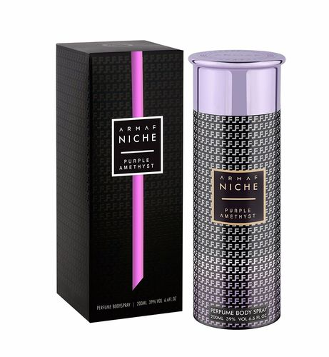 Armaf Niche - Perfume Bodyspray for Women - Purple Amethyst - 200ml