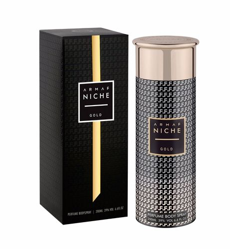 Armaf Niche - Perfume Bodyspray for Women - Gold - 200ml