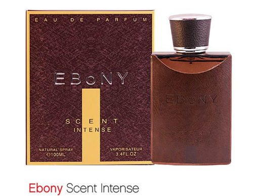 Ebony Scent Intense - 100ml Eau de Parfum for Men (LJ - 0023)