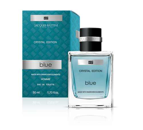 """BLUE"" by Jacques Battini - 100ml EdT pour Homme"