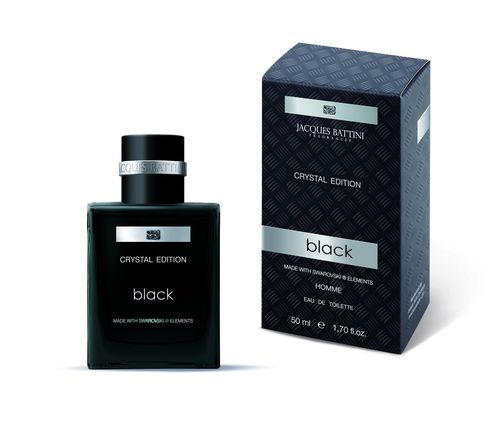 """BLACK"" by Jacques Battini - 50 ml EdT pour Homme"